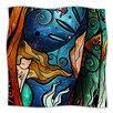 KESS InHouse Fathoms Below Mermaid Microfiber Fleece Throw Blanket