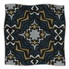 KESS InHouse Winter Fractals Microfiber Fleece Throw Blanket
