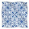 KESS InHouse Blue Explosion Microfiber Fleece Throw Blanket