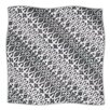 KESS InHouse Silver Lace Microfiber Fleece Throw Blanket