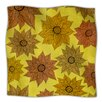 KESS InHouse Its Raining Flowers Microfiber Fleece Throw Blanket