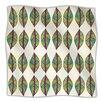 KESS InHouse Tribal Leaves Microfiber Fleece Throw Blanket