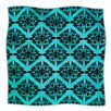 KESS InHouse Eye Symmetry Pattern Microfiber Fleece Throw Blanket