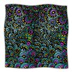 KESS InHouse Peacock Tail Microfiber Fleece Throw Blanket
