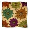 KESS InHouse Color Me Floral Microfiber Fleece Throw Blanket