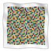 KESS InHouse Colour Blocks Microfiber Fleece Throw Blanket
