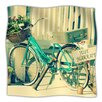 KESS InHouse Just Married Microfiber Fleece Throw Blanket