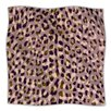 KESS InHouse Leopard Print Microfiber Fleece Throw Blanket