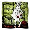 KESS InHouse Taurus Microfiber Fleece Throw Blanket