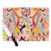 KESS InHouse Alice in Wonderland Cutting Board