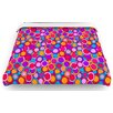"KESS InHouse ""My Colourful Circles"" Woven Comforter Duvet Cover"