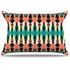 KESS InHouse Triangle Visions Pillowcase