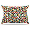 KESS InHouse Retro Grade Pillowcase