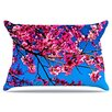 KESS InHouse Flowers Pillowcase