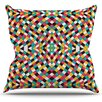 KESS InHouse Retro Grade Throw Pillow