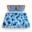 KESS InHouse Giraffe Spots by Ebi Emporium Fleece Duvet Cover