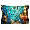 KESS InHouse Under the Sea by Mandie Manzano Cotton Pillow Sham