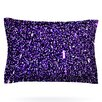 KESS InHouse Purple Dots by Maynard Logan Woven Pillow Sham