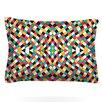 KESS InHouse Retro Grade by Danny Ivan Woven Pillow Sham