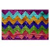 KESS InHouse Natural Flow by Beth Engel Chevron Decorative Doormat