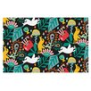 KESS InHouse Folk Fusion by Agnes Schugardt Abstract Decorative Doormat