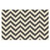 KESS InHouse Moonrise Chevron Ikat by Amanda Lane Decorative Doormat
