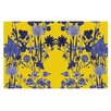 KESS InHouse Bloom Flower by Debora Chodik Decorative Doormat