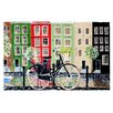KESS InHouse Bicycle by Christen Treat Decorative Doormat