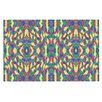 KESS InHouse Energy Abstract by Empire Ruhl Pattern Decorative Doormat
