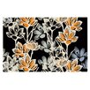 KESS InHouse Crocus by Gill Eggleston Decorative Doormat