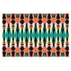 KESS InHouse Triangle Visions by Akwaflorell Decorative Doormat