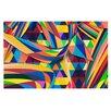 KESS InHouse The Optimist by Danny Ivan Geometric Decorative Doormat