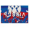KESS InHouse Russia World Cup by Danny Ivan Decorative Doormat