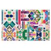 KESS InHouse Geometry 2B by Mareike Boehmer Abstract Decorative Doormat