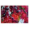 KESS InHouse Bougainvillea by Mary Bateman Decorative Doormat