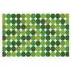 KESS InHouse Noblefur Dots Decorative Doormat