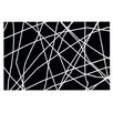KESS InHouse Paucina by Trebam Crazy Lines Decorative Doormat
