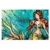 KESS InHouse Serene Siren by Mandie Manzano Decorative Doormat