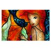 KESS InHouse Ariel by Mandie Manzano Mermaid Decorative Doormat