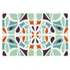 KESS InHouse Stained Glass by Miranda Mol Decorative Doormat