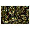 KESS InHouse Infinite Depth by Pom Graphic Design Decorative Doormat