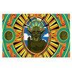 KESS InHouse Darth Yoda by Roberlan Star Wars Decorative Doormat