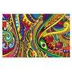 KESS InHouse Doodle by Roberlan Decorative Doormat