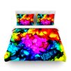 KESS InHouse Sweet Sour by Claire Day Light Cotton Duvet Cover