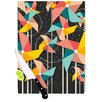 KESS InHouse Colorful Pinwheels by Danny Ivan Abstract Cutting Board