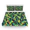 KESS InHouse Fruit and Fun by Akwaflorell Woven Duvet Cover