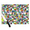 KESS InHouse Abstraction by Project M Rainbow Abstract Cutting Board