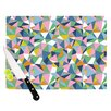 KESS InHouse Abstraction Pink by Project M Rainbow Abstract Cutting Board