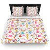 KESS InHouse Vintage Playground IIII by Jane Smith Woven Duvet Cover
