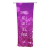 KESS InHouse Sparkles are a Girls Best Friend Curtain Panels (Set of 2)